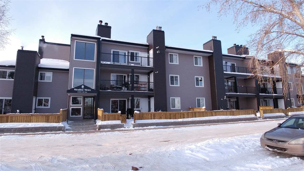 206 12404 161 Avenue NW, 2 bed, 1 bath, at $115,000