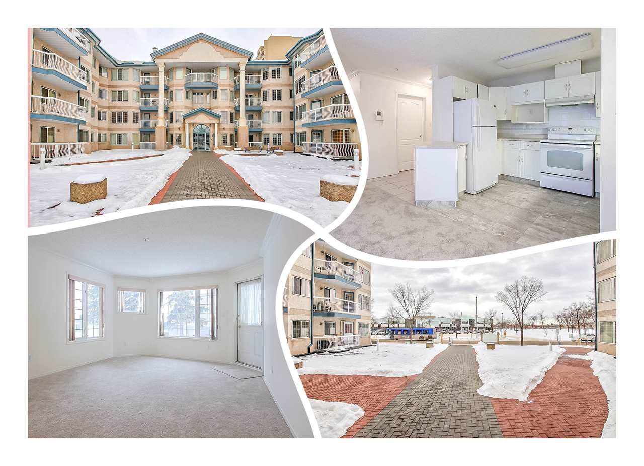 104 13450 114 Avenue NW, 1 bed, 1 bath, at $172,500