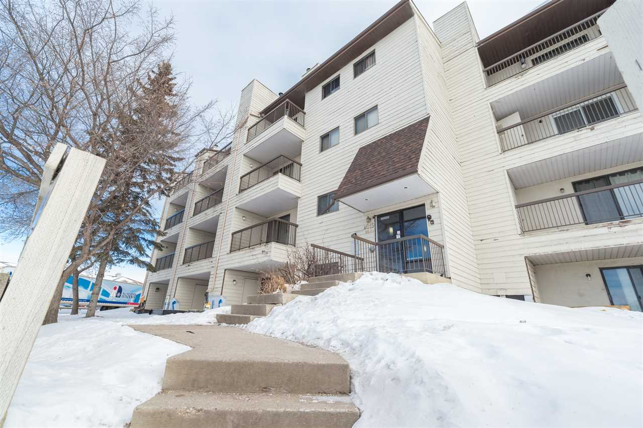 203 4015 26 Avenue NW, 1 bed, 1 bath, at $115,000