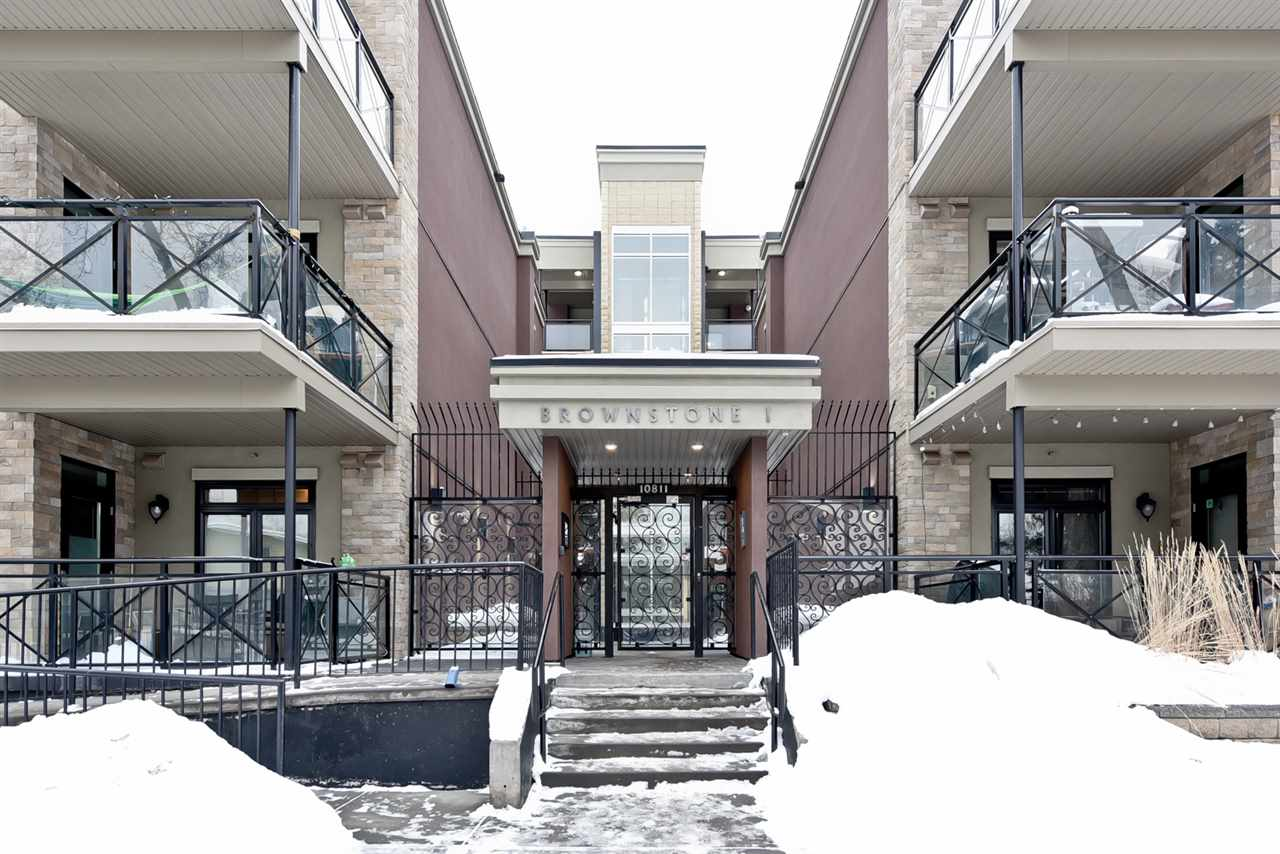 #110 10811 72 Avenue NW, 1 bed, 1 bath, at $244,900