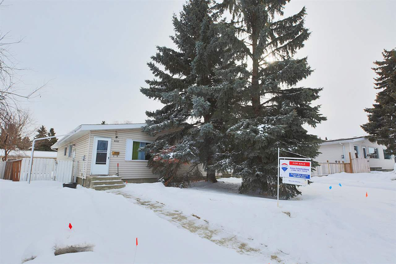 8007 141 Avenue NW, 5 bed, 2 bath, at $275,000