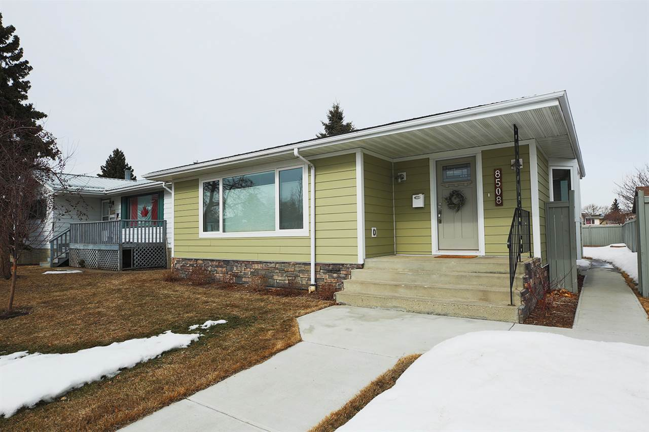 8508 35 Avenue NW, 5 bed, 3 bath, at $449,900