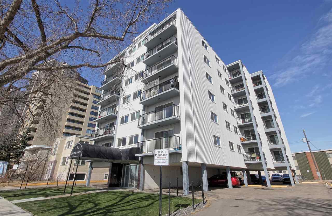 201 (3rd floor) 8310 Jasper Avenue, 2 bed, 1 bath, at $122,000
