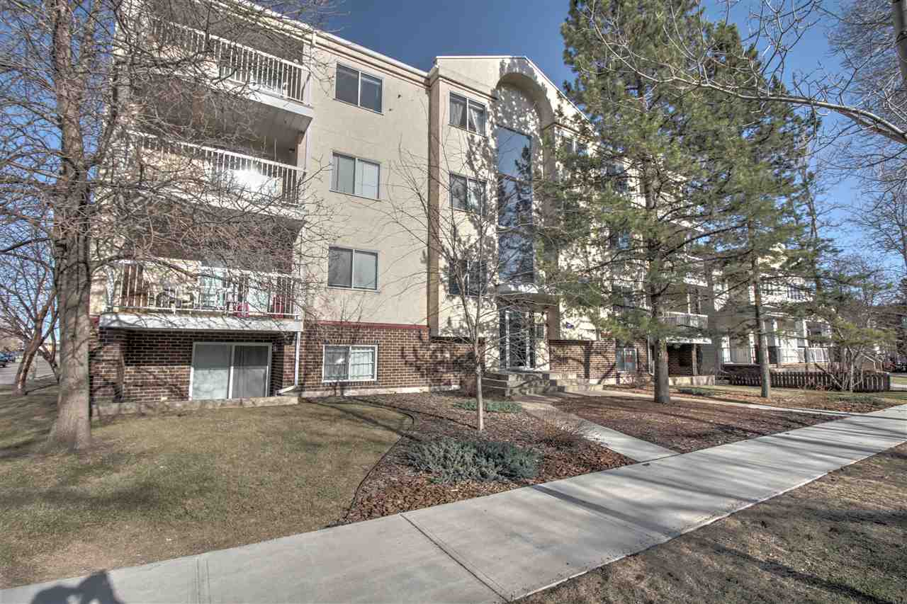 201 11045 123 Street NW, 1 bed, 1 bath, at $134,900