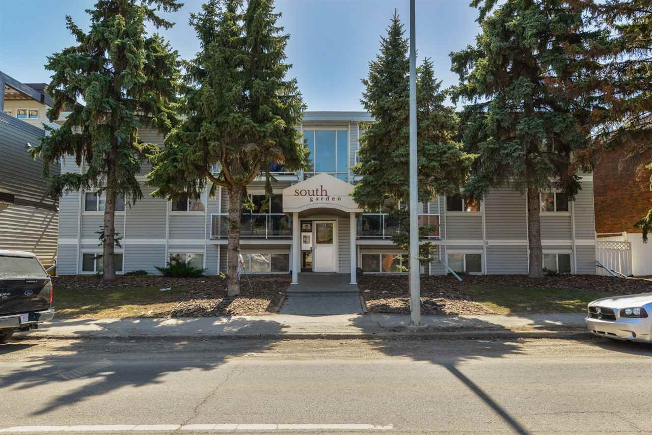 202 9725 82 Avenue NW, 1 bed, 1 bath, at $145,000