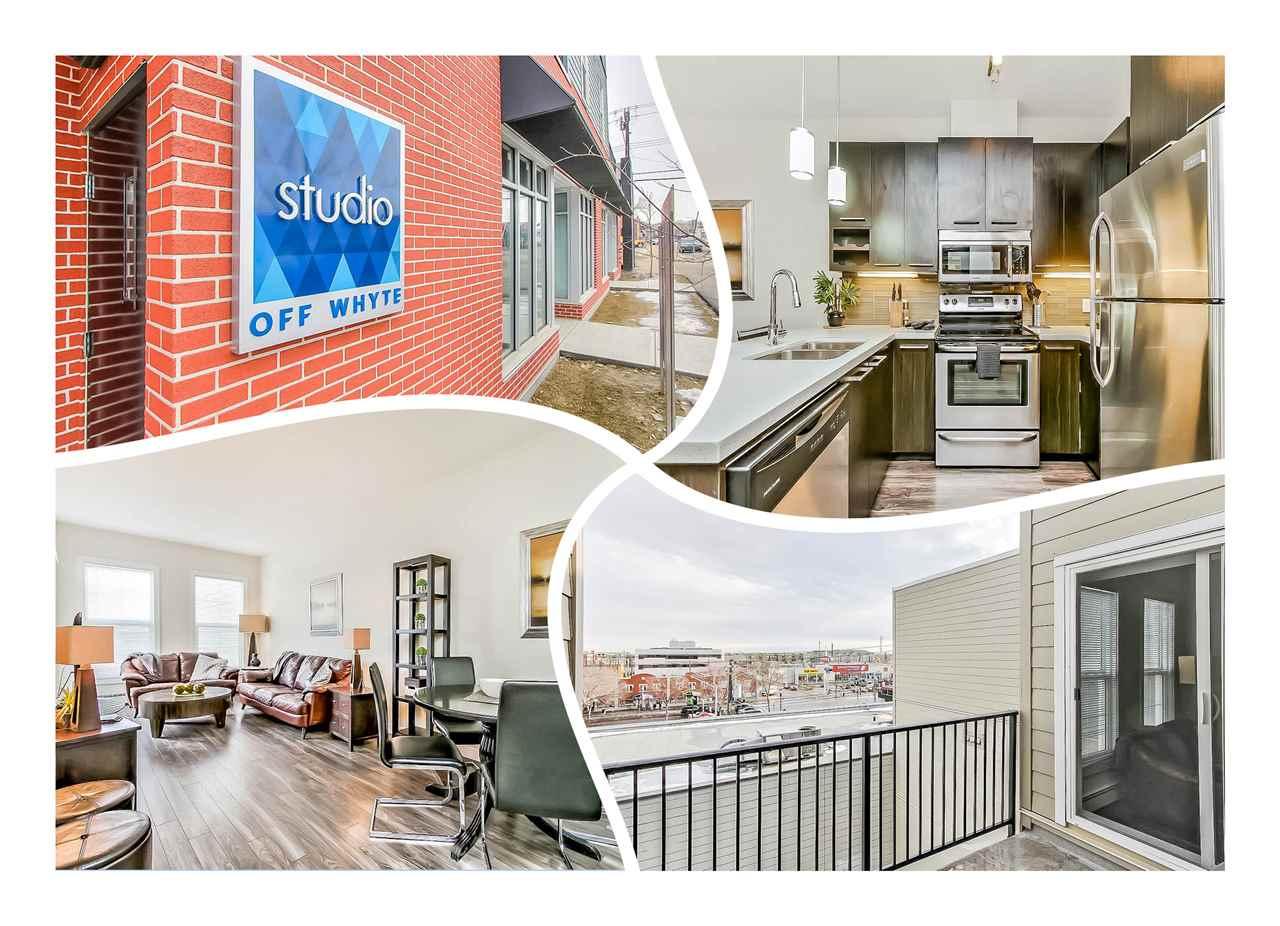 411 10418 81 Avenue, 1 bed, 1 bath, at $270,000