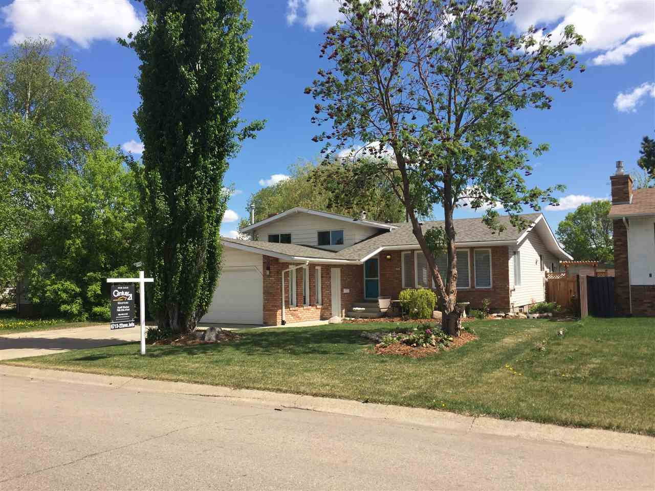 6713 22 Avenue NW, 4 bed, 3 bath, at $418,000