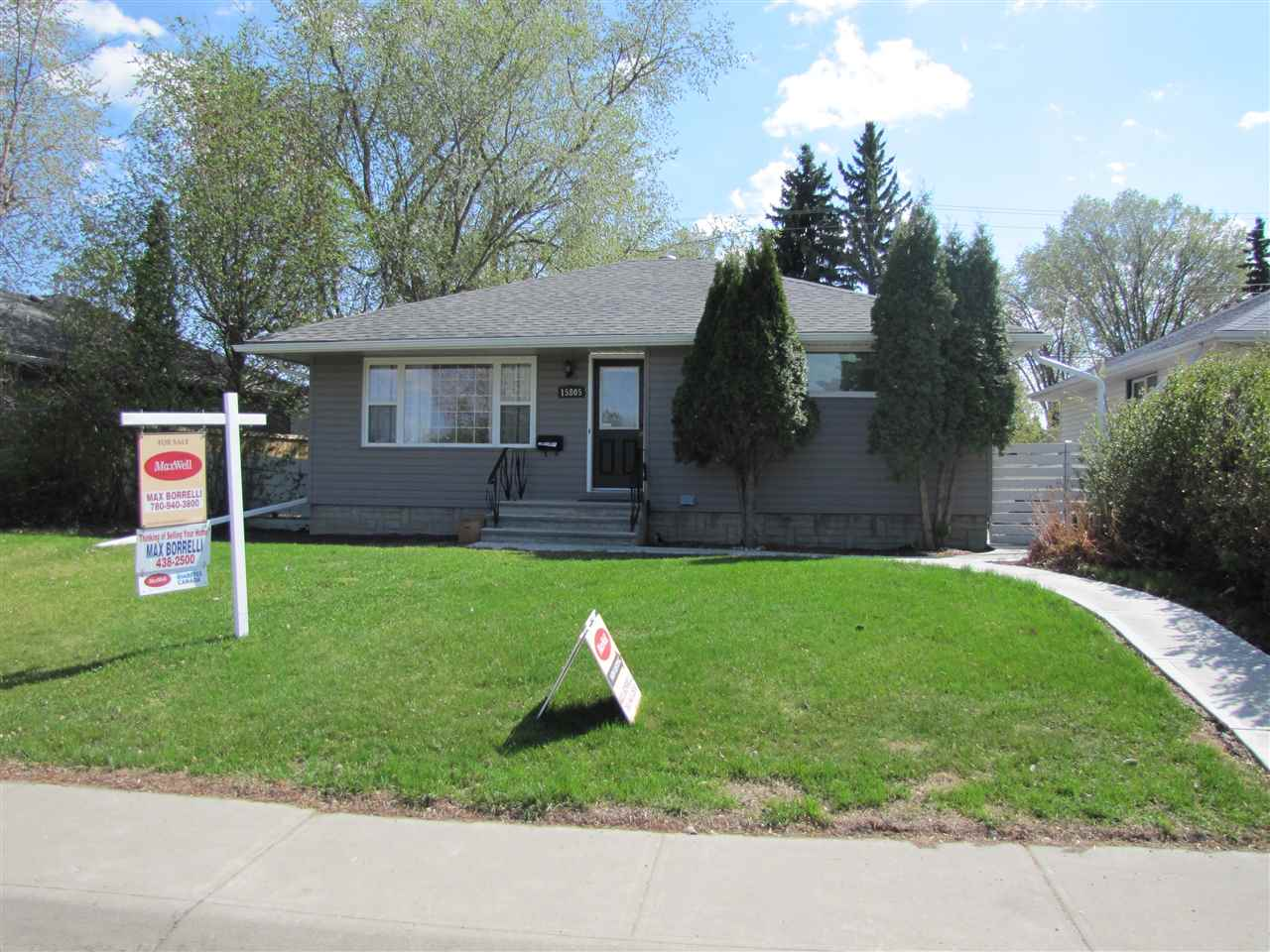 15805 83 Avenue NW, 5 bed, 2 bath, at $360,000