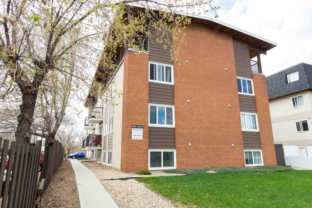 101 8524 Gateway Boulevard, 1 bed, 1 bath, at $137,500