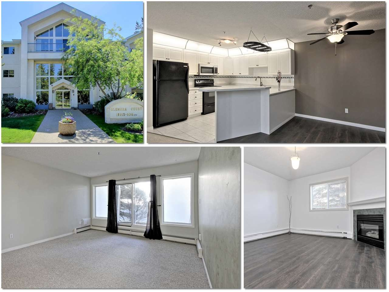 110 11915 106 Avenue NW, 2 bed, 2 bath, at $239,800