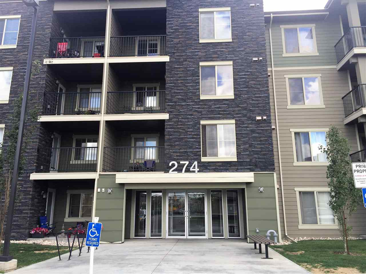 317 274 MCCONACHIE Drive NW, 2 bed, 2 bath, at $230,000