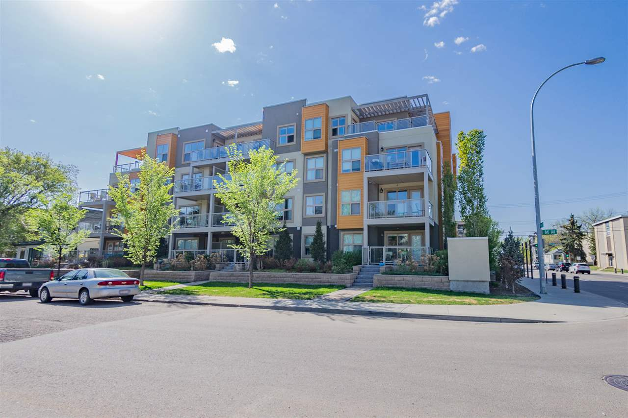 208 8515 99 Street, 1 bed, 1 bath, at $250,000