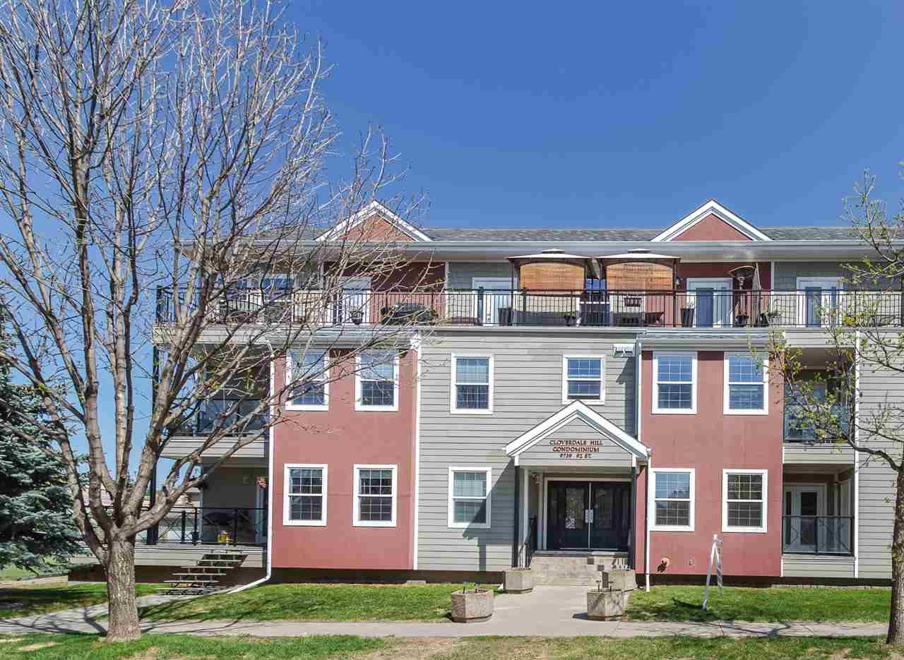 101 9739 92 Street, 2 bed, 1.1 bath, at $329,000