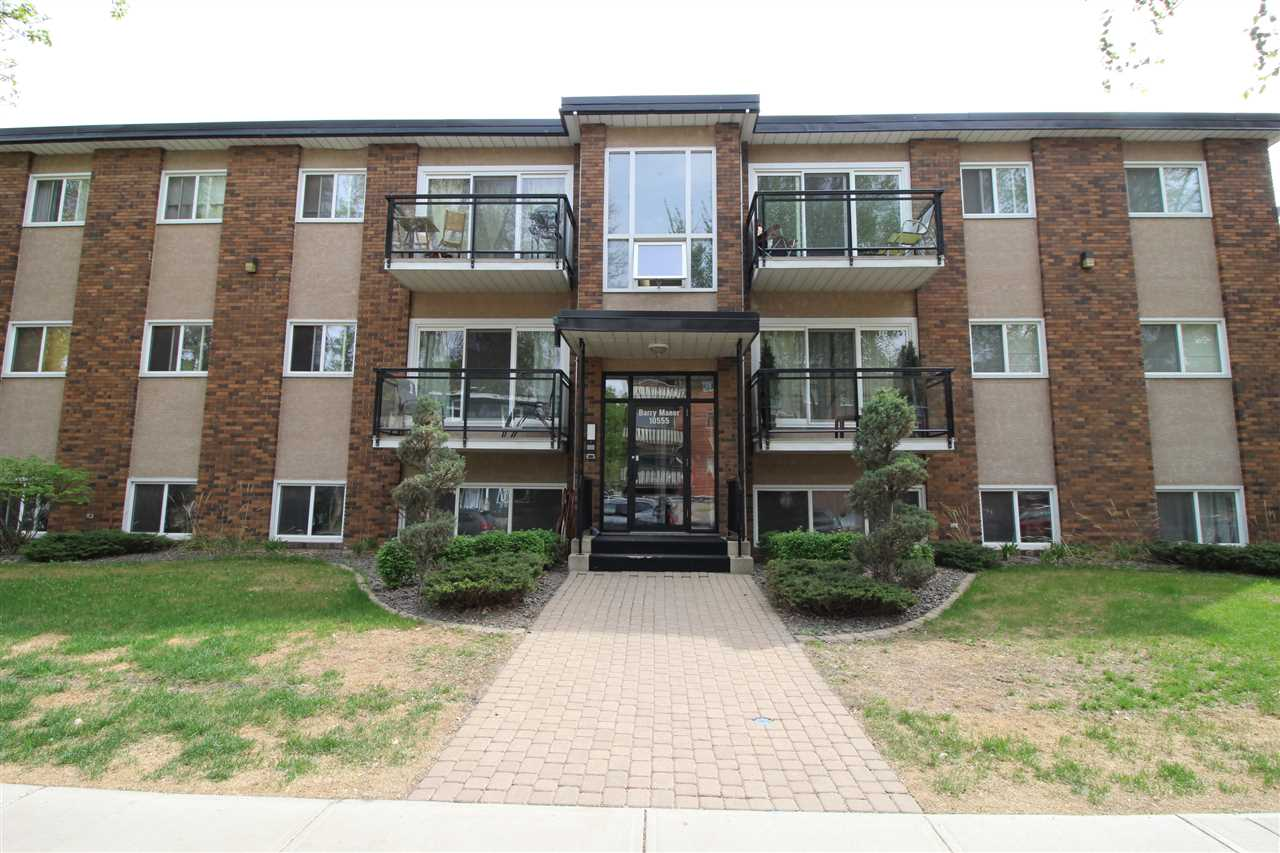 305 10555 83 Avenue, 1 bed, 1 bath, at $195,000