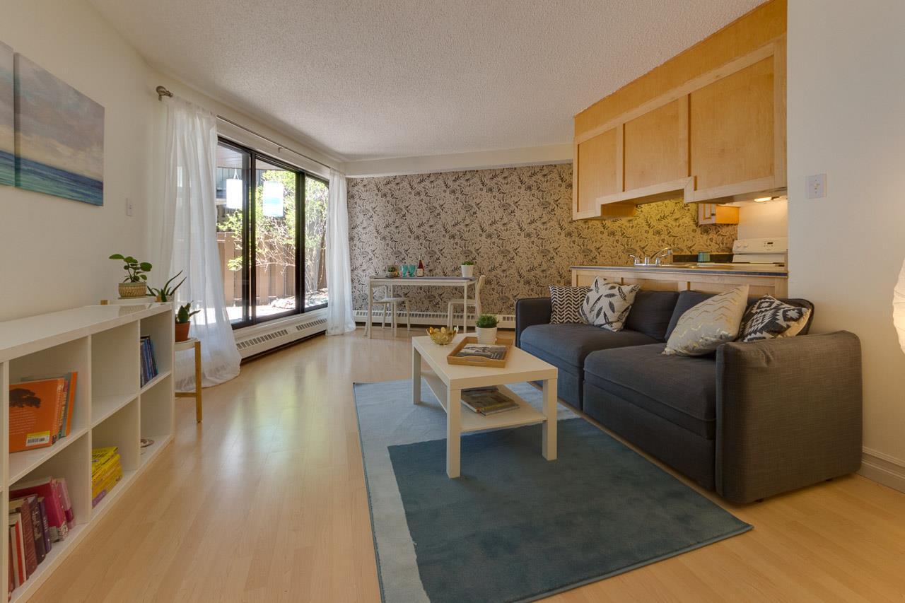 106 11618 100 Avenue, 1 bed, 1 bath, at $185,000